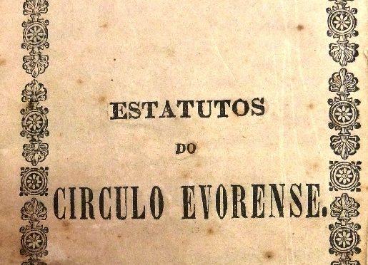 Os estatutos do primer Circulo Eborense (1836-1849)